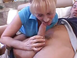 Blond Mom and NOT her Son